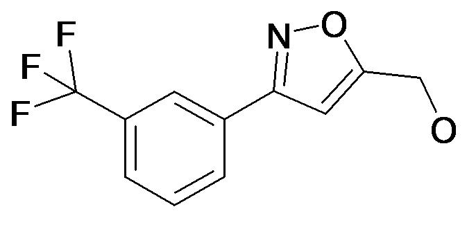 [3-(3-Trifluoromethyl-phenyl)-isoxazol-5-yl]-methanol