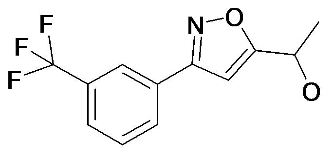 1-[3-(3-Trifluoromethyl-phenyl)-isoxazol-5-yl]-ethanol