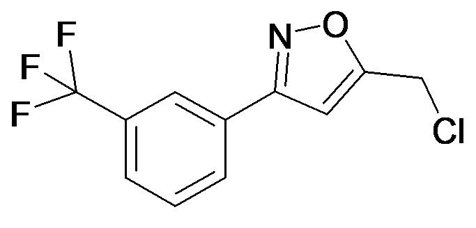 5-Chloromethyl-3-(3-trifluoromethyl-phenyl)-isoxazole