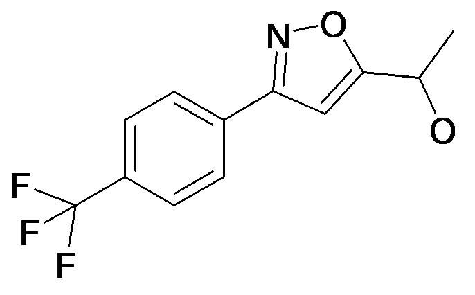 1-[3-(4-Trifluoromethyl-phenyl)-isoxazol-5-yl]-ethanol