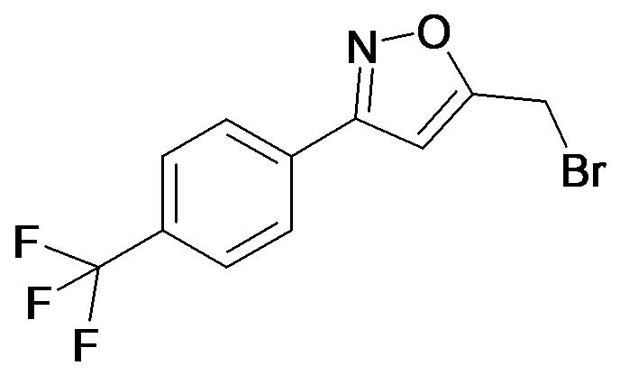 5-Bromomethyl-3-(4-trifluoromethyl-phenyl)-isoxazole