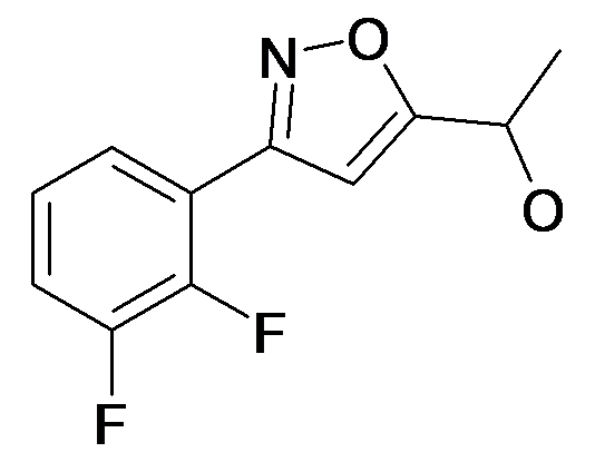 1-[3-(2,3-Difluoro-phenyl)-isoxazol-5-yl]-ethanol