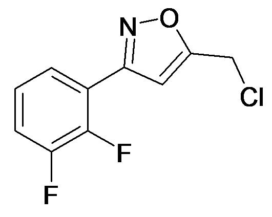 5-Chloromethyl-3-(2,3-difluoro-phenyl)-isoxazole