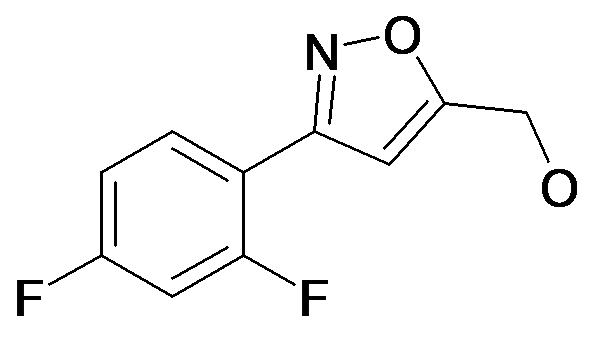 [3-(2,4-Difluoro-phenyl)-isoxazol-5-yl]-methanol