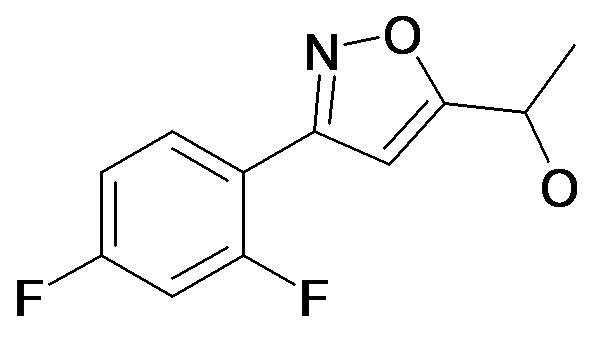 1-[3-(2,4-Difluoro-phenyl)-isoxazol-5-yl]-ethanol