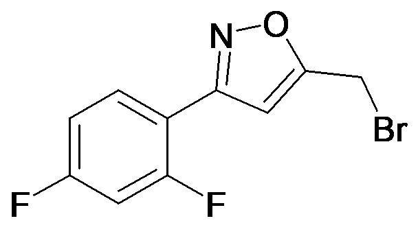 5-Bromomethyl-3-(2,4-difluoro-phenyl)-isoxazole