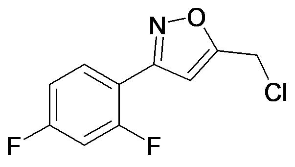 5-Chloromethyl-3-(2,4-difluoro-phenyl)-isoxazole