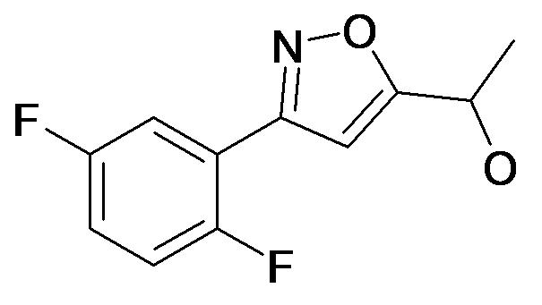 1-[3-(2,5-Difluoro-phenyl)-isoxazol-5-yl]-ethanol