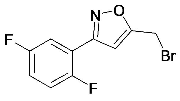 5-Bromomethyl-3-(2,5-difluoro-phenyl)-isoxazole