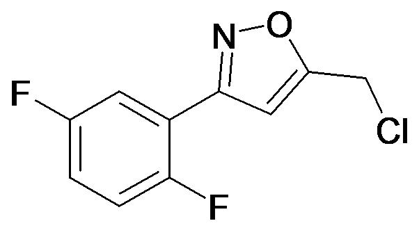 5-Chloromethyl-3-(2,5-difluoro-phenyl)-isoxazole