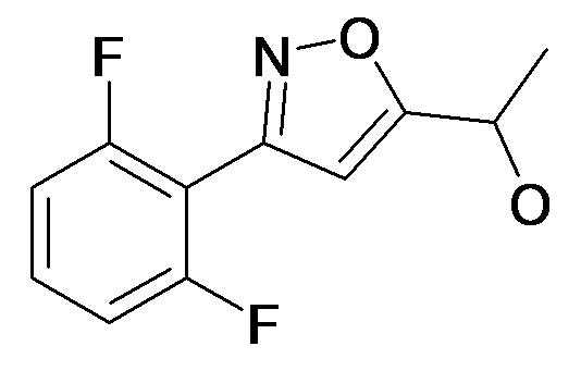 1-[3-(2,6-Difluoro-phenyl)-isoxazol-5-yl]-ethanol