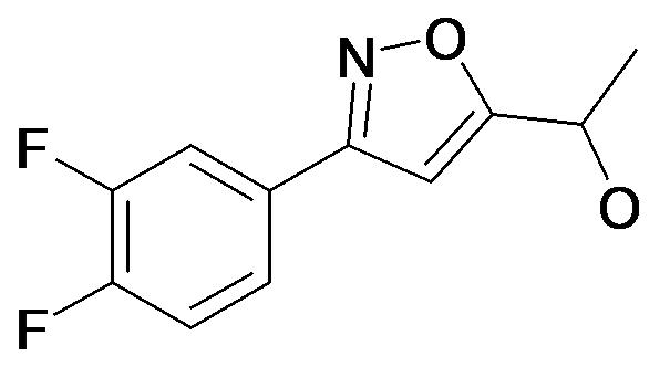 1-[3-(3,4-Difluoro-phenyl)-isoxazol-5-yl]-ethanol