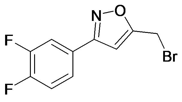 5-Bromomethyl-3-(3,4-difluoro-phenyl)-isoxazole