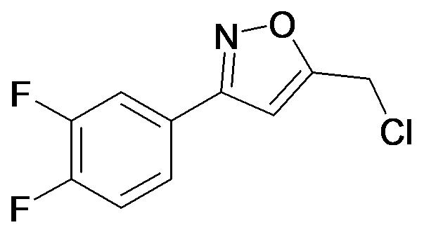 5-Chloromethyl-3-(3,4-difluoro-phenyl)-isoxazole