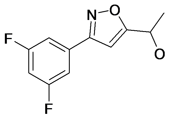 1-[3-(3,5-Difluoro-phenyl)-isoxazol-5-yl]-ethanol