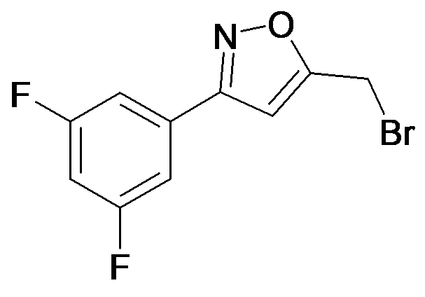 5-Bromomethyl-3-(3,5-difluoro-phenyl)-isoxazole
