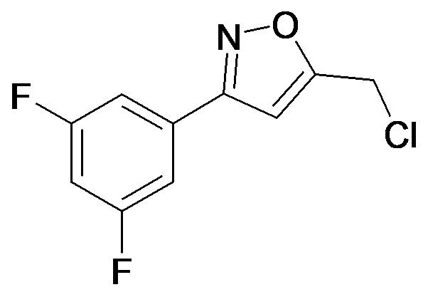 5-Chloromethyl-3-(3,5-difluoro-phenyl)-isoxazole