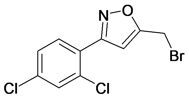 5-Bromomethyl-3-(2,4-dichloro-phenyl)-isoxazole