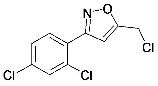 5-Chloromethyl-3-(2,4-dichloro-phenyl)-isoxazole