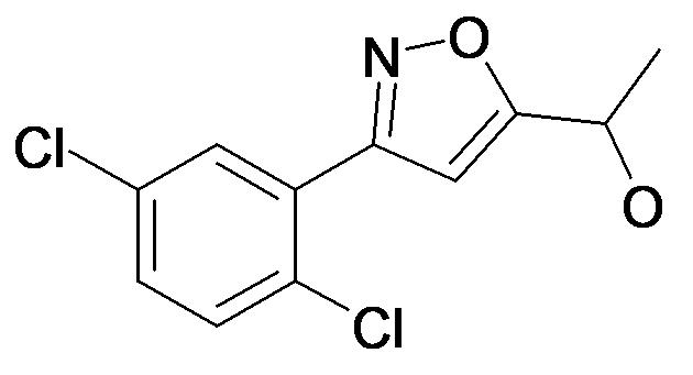 1-[3-(2,5-Dichloro-phenyl)-isoxazol-5-yl]-ethanol