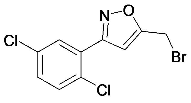 5-Bromomethyl-3-(2,5-dichloro-phenyl)-isoxazole