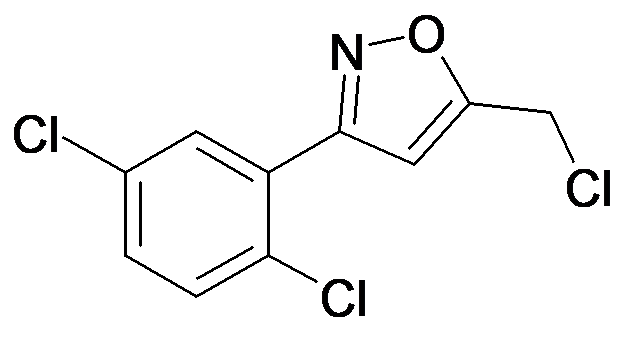 5-Chloromethyl-3-(2,5-dichloro-phenyl)-isoxazole