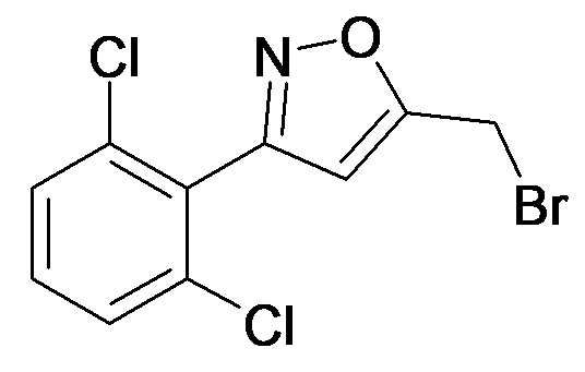 5-Bromomethyl-3-(2,6-dichloro-phenyl)-isoxazole