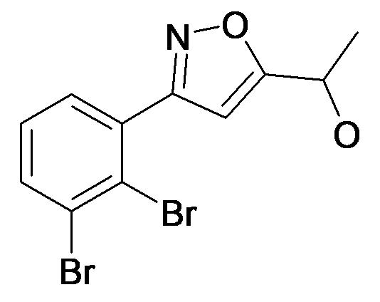 1-[3-(2,3-Dibromo-phenyl)-isoxazol-5-yl]-ethanol