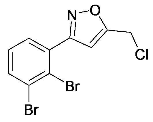 5-Chloromethyl-3-(2,3-dibromo-phenyl)-isoxazole
