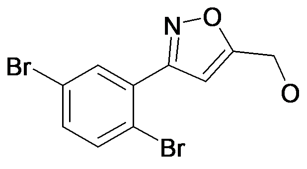[3-(2,5-Dibromo-phenyl)-isoxazol-5-yl]-methanol