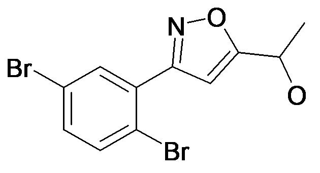 1-[3-(2,5-Dibromo-phenyl)-isoxazol-5-yl]-ethanol