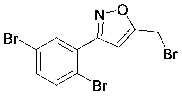 5-Bromomethyl-3-(2,5-dibromo-phenyl)-isoxazole
