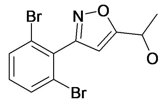 1-[3-(2,6-Dibromo-phenyl)-isoxazol-5-yl]-ethanol