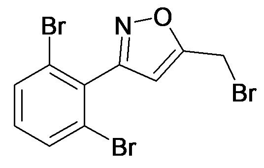 5-Bromomethyl-3-(2,6-dibromo-phenyl)-isoxazole