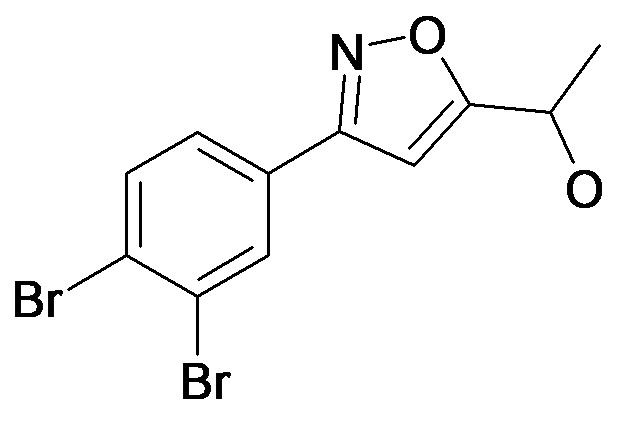 1-[3-(3,4-Dibromo-phenyl)-isoxazol-5-yl]-ethanol