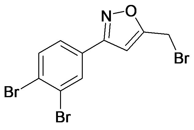 5-Bromomethyl-3-(3,4-dibromo-phenyl)-isoxazole