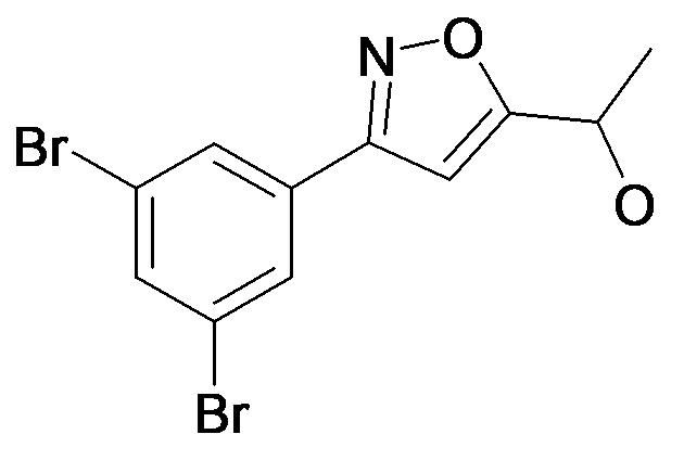 1-[3-(3,5-Dibromo-phenyl)-isoxazol-5-yl]-ethanol