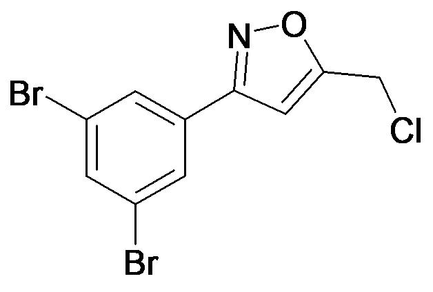 5-Chloromethyl-3-(3,5-dibromo-phenyl)-isoxazole