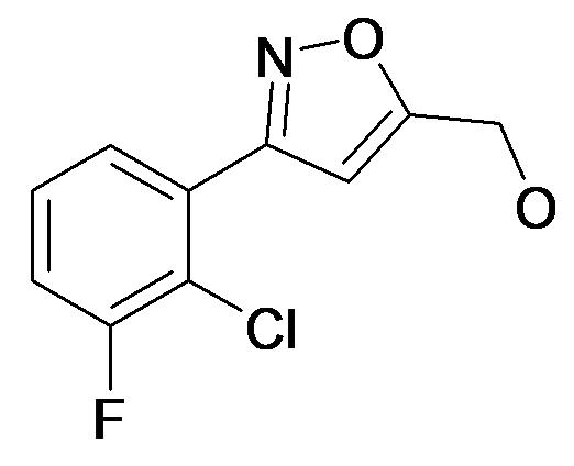 [3-(2-Chloro-3-fluoro-phenyl)-isoxazol-5-yl]-methanol