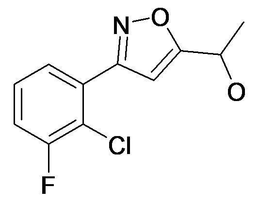 1-[3-(2-Chloro-3-fluoro-phenyl)-isoxazol-5-yl]-ethanol