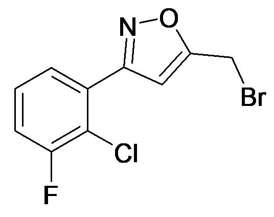 5-Bromomethyl-3-(2-chloro-3-fluoro-phenyl)-isoxazole
