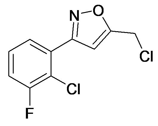 3-(2-Chloro-3-fluoro-phenyl)-5-chloromethyl-isoxazole
