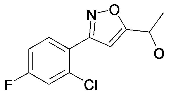 1-[3-(2-Chloro-4-fluoro-phenyl)-isoxazol-5-yl]-ethanol