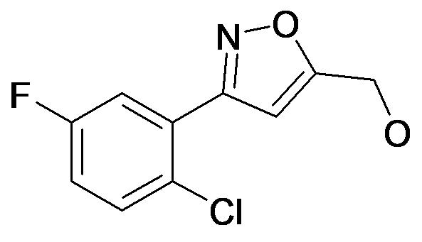 [3-(2-Chloro-5-fluoro-phenyl)-isoxazol-5-yl]-methanol