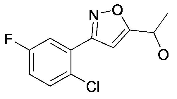 1-[3-(2-Chloro-5-fluoro-phenyl)-isoxazol-5-yl]-ethanol