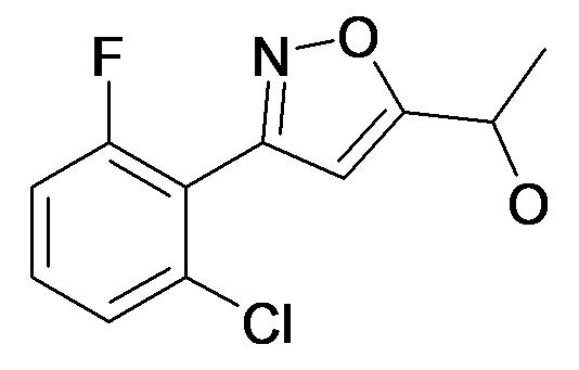 1-[3-(2-Chloro-6-fluoro-phenyl)-isoxazol-5-yl]-ethanol