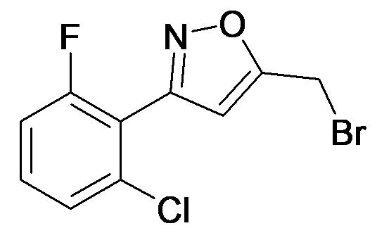5-Bromomethyl-3-(2-chloro-6-fluoro-phenyl)-isoxazole