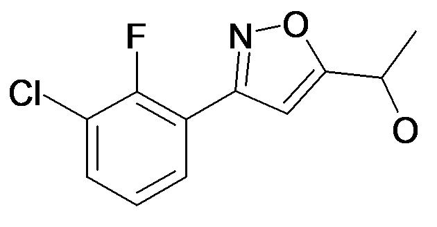 1-[3-(3-Chloro-2-fluoro-phenyl)-isoxazol-5-yl]-ethanol
