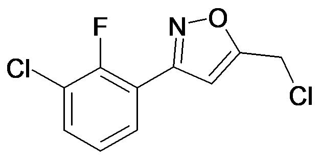 3-(3-Chloro-2-fluoro-phenyl)-5-chloromethyl-isoxazole