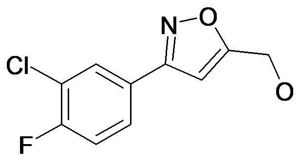 [3-(3-Chloro-4-fluoro-phenyl)-isoxazol-5-yl]-methanol